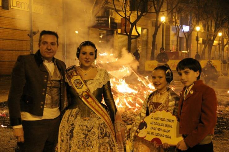 Cremà - Falla Juan de Aguiló