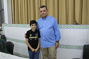 Presidente Infantil, Pablo Rasero Tena.