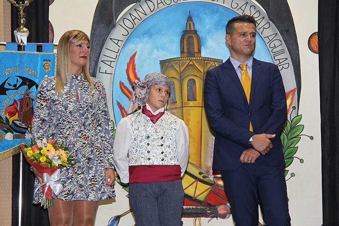 Proclamación Diego Real i Royo. Presidente Infantil